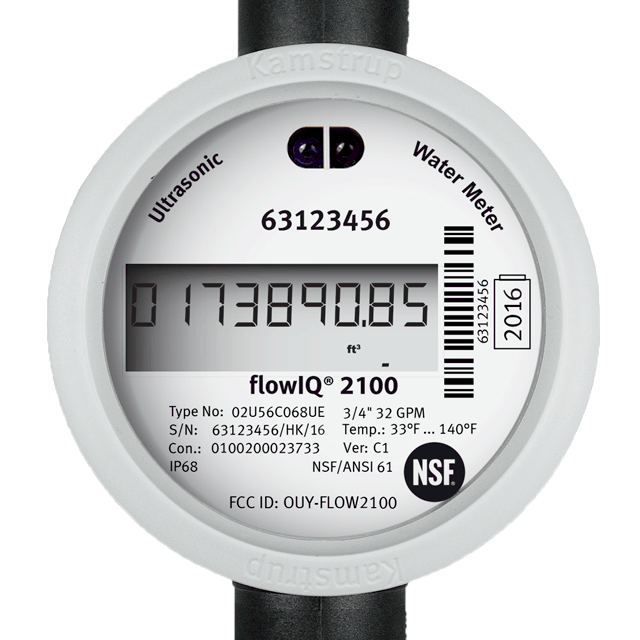 flowIQ® 2100   Residential water meter