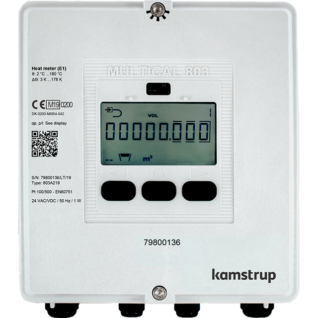 Smart heat/cooling meters for property management