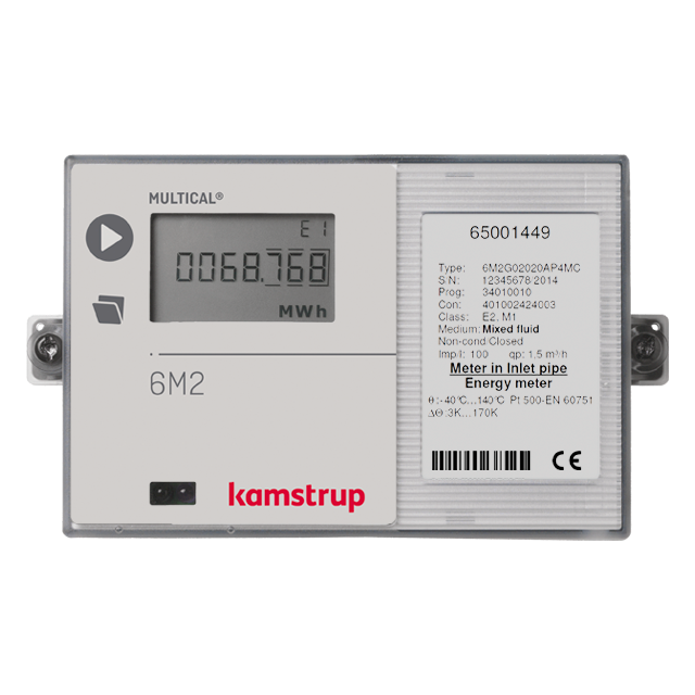 Multical 174 6m2 The Heat Meter Tailored For Mixed Fluids