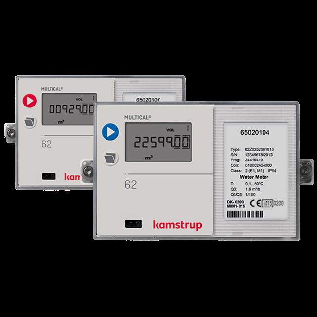 MULTICAL® 62 | Modular water meter on